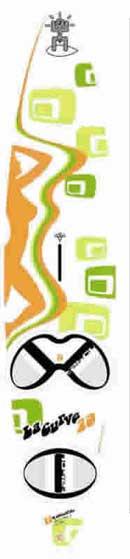 Anteprima grafica delle nuova Tabou 2004 freestyle e wave 2004