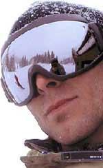 Snowboard fishbowl
