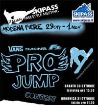 Pro Jump Contest Vans Da Kine F2