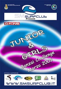 SANTA MARINELLA  JUNIOR & GIRLS  DAKINE CHALLENGE