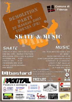 Demolition skate contest Fidenza