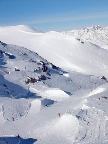 Piano di previsione del snowpark 2006 - Les 2 Alpes