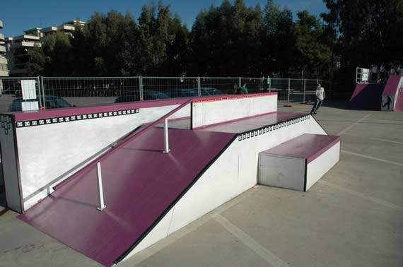 DC Shoes a Battipaglia: BeatStraw Skate Park e Break Ya Deck 2006