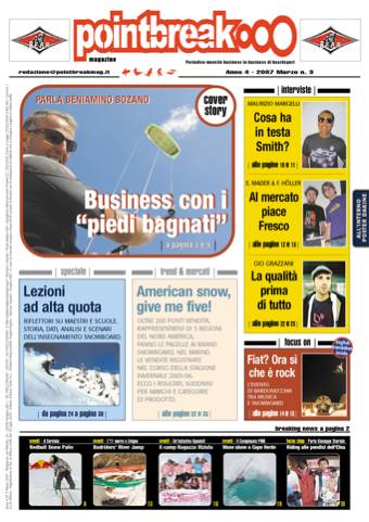 Pointbreak Magazine n.3 marzo 2007