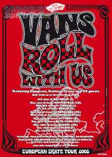 Vans European Skate Tour Roll with Us!