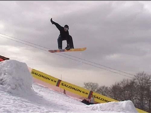Manovre snowboard: MUTE