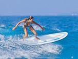 Tavola surf MALIBU o MINI-LONGBOARD