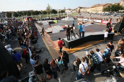 Pubblico TIM tribu Skate Cup Padova
