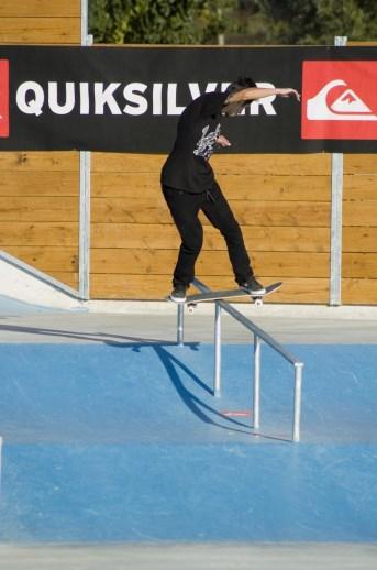 Luca crestani FS Boardslide