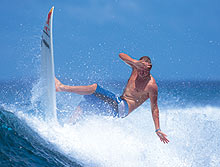 Surf: off the lip