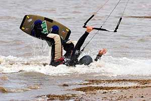 Kitesurf Partenza Acqua