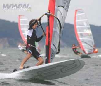 VIRATA VELOCE o STRAMBATA nel windsurf
