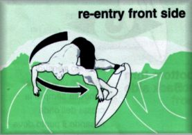 SURF RE-ENTRY -Off the Lip