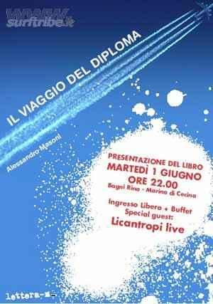 IL VIAGGIO DEL DIPLOMA: NUOVO LIBRO DI ALESSANDRO MASONI