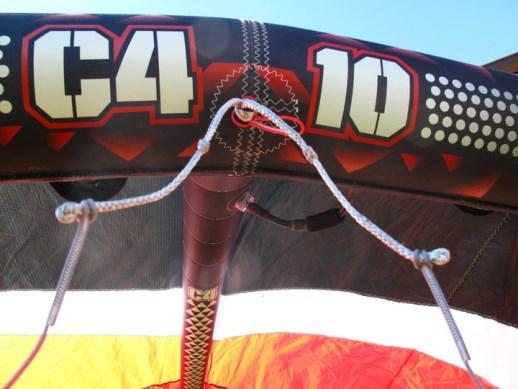 Ala Kitesurf  2011 Ozone c4