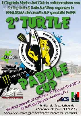 TURTLE PADDLE CUP