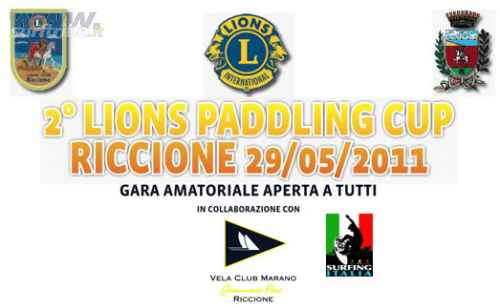 2nd LIONS PADDLING CUP A RICCIONE