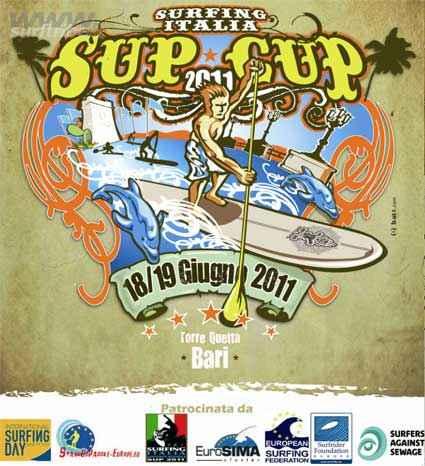 AL VIA LA SURFING ITALIA SUP CUP BARI 2011