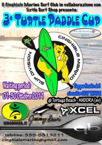 III Turtle Paddle Cup