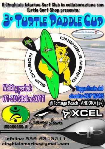 III Turtle Paddle Cup SEMAFORO GIALLO