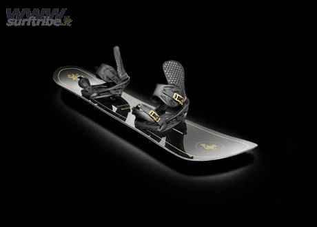 Snowboard firmato Pirelli PZero e Burton