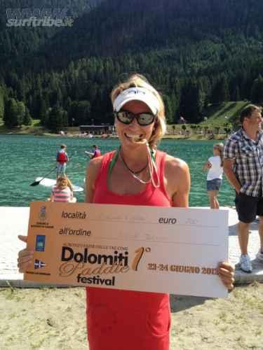 Silvia Shark Dolomiti Paddle festival campionato Italiano race