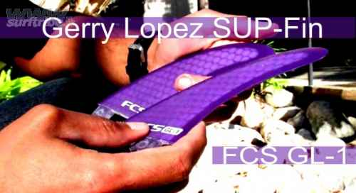 Gerry Lopez GL-1 Stand Up Paddleboard Fin by FCS