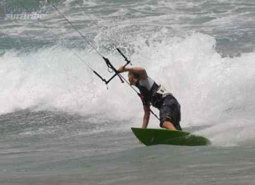 Jimmy Lewis kite surf schack sergio carva