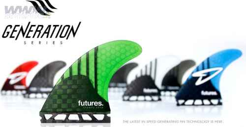 Futures Fins Generation series