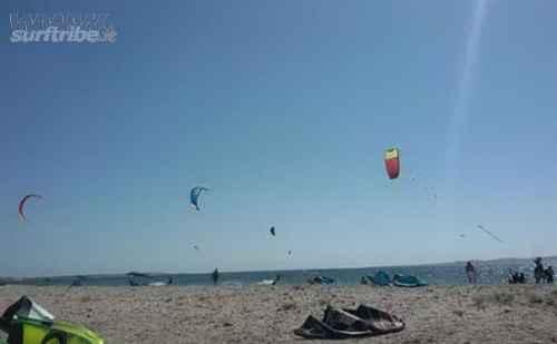 Portoscuso, a Punta s'Aliga il paradiso per gli amanti del kitesurf