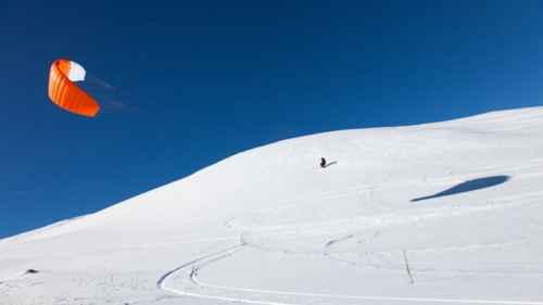 Snowkite a Roccaraso