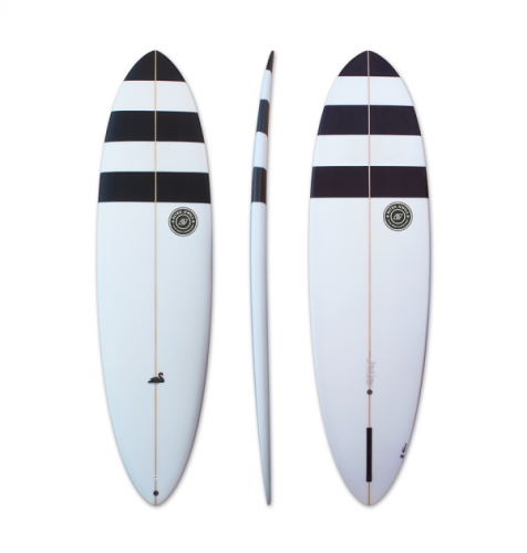 TwinsBros Surfboards presenta  Black Swan