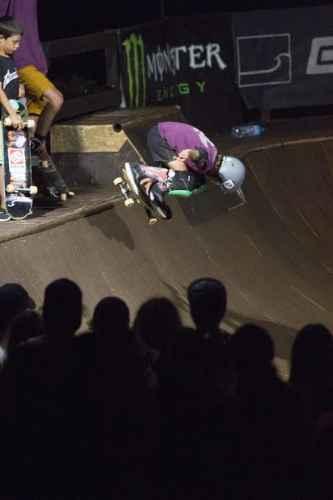 Grande spettacolo alla manifestazione Skate rock ink della Marinedda