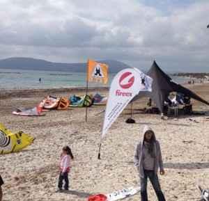 Alghero vieta il kitesurf