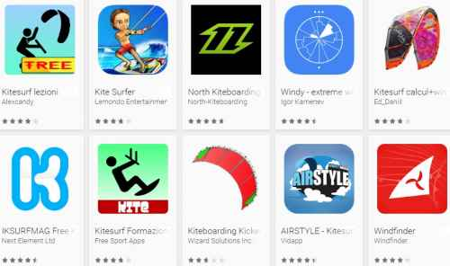 Android Kitesurf
