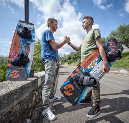 eccellenza del kite surf mondiale vive a Sermoneta