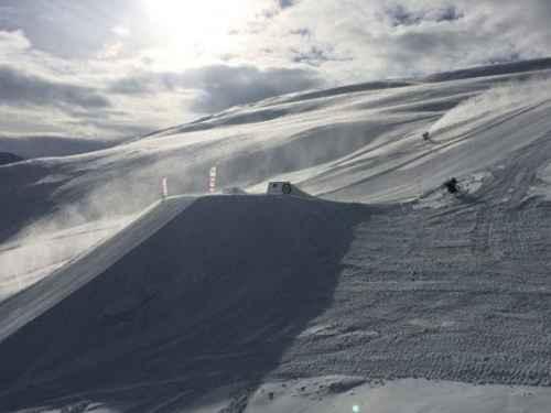 inea salti: kicker 14 e 16 metri allo Snowpark Mottolino