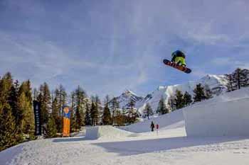 A Pila aprono lo snowpark e tante piste