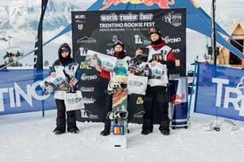 2017 Trentino Rookie Fest - Podium Grom Boys