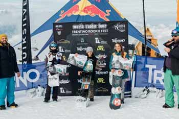 2017 Trentino Rookie Fest - Podio Grom Girls