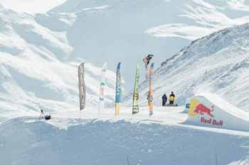 Alex Lotorto al World Rookie Fest 2017 allo Snowpark Mottolino di Livigno