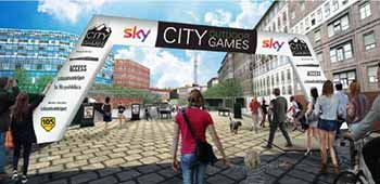 I City Outdoor Games 2017 sbarcano in Darsena