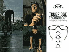 OAKLEY Trubridge Technology: a customized fit for any face