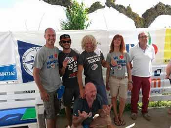 Christopher Frank ITA-211 si aggiudica anche la seconda tappa di Coppa Italia di Formula Windsurf 2017