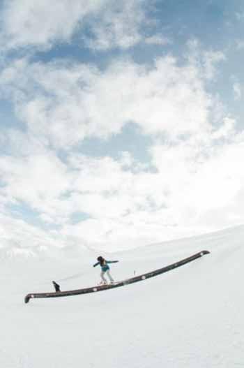 Emma Gennero in action al Mottolino Snowpark di Livigno - Ph. Lorenzo Fizza Verdinelli
