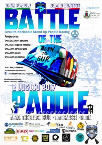 Aperte le iscrizioni per la Battle of the Paddle