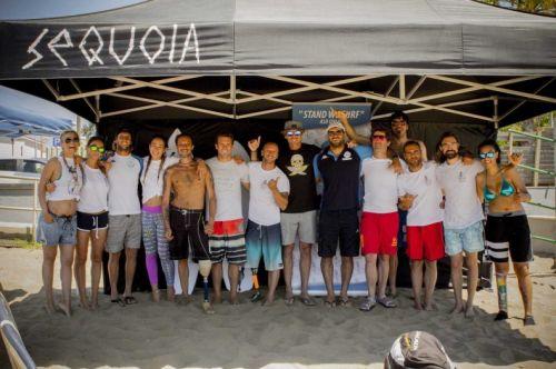 Fabrizio Passetti  Inaugura la Stand We Surf Scuola per Disabili