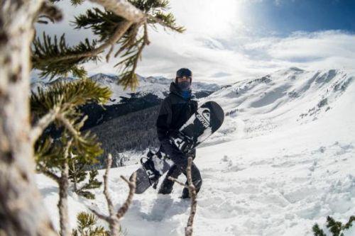 Lorenzo Gennero a Copper Mountain lo scorso inverno