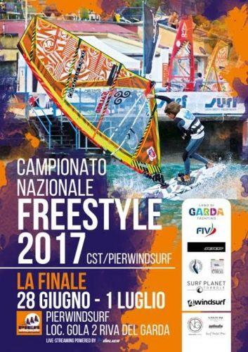 CAMPIONATO NAZIONALE FREESTYLE Windsurf 2017