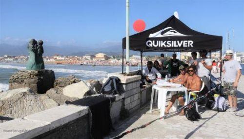 Giuria e campo gara della Quiksilver Junior Cup